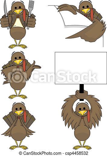 Holiday Turkey - csp4458532