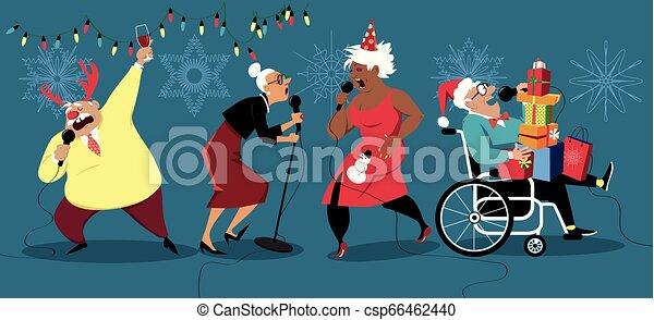 Holidays for senior citizens - csp66462440