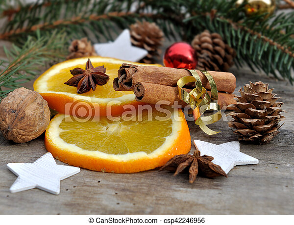 holidays ingredient for dessert - csp42246956