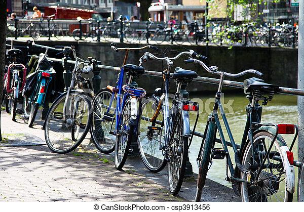 Holland, Netherlands, capital of Amsterdam - csp3913456