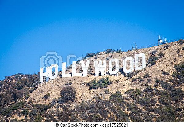 Hollywood - csp17525821
