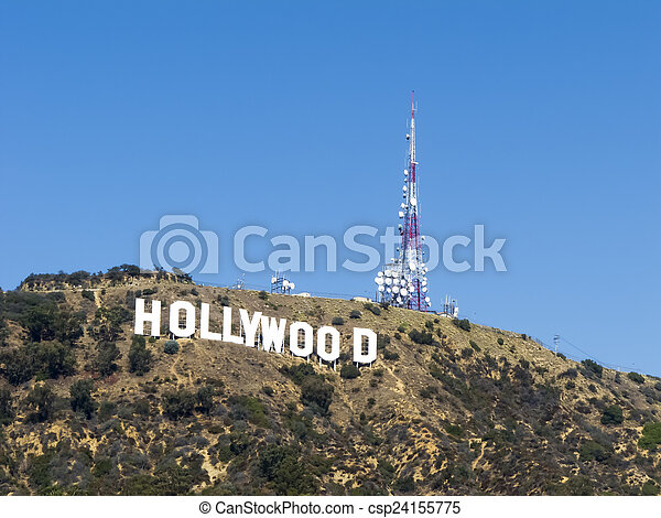 The Hollywood Sign Formerly Hollywoodland Is A Picture