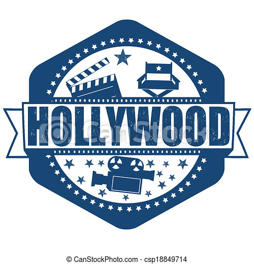 Hollywood stamp - csp18849714