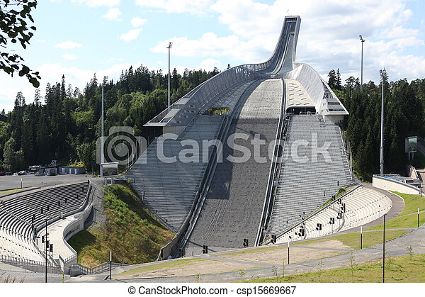 how to get to ski jump oslo