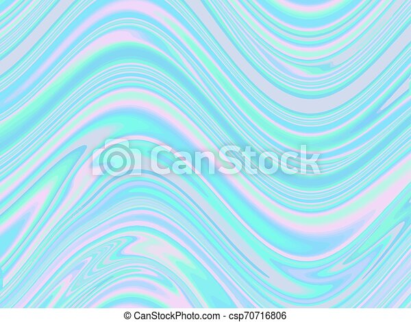 Trasfondo Abstracto Holográfico En Pastel Color Neón