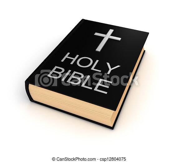 Holy bible - csp12804075