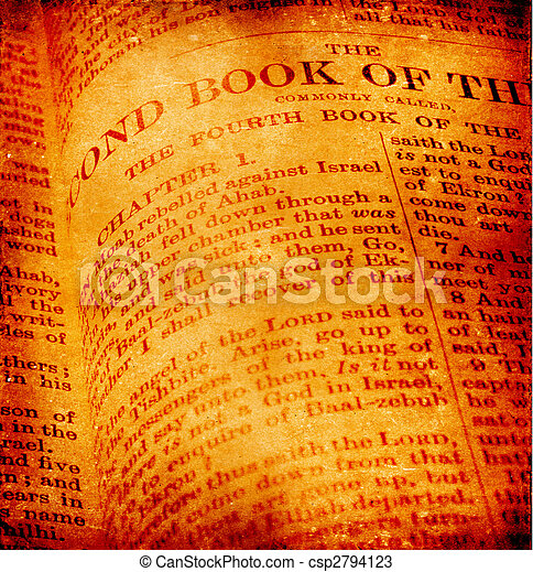 Holy Bible - csp2794123