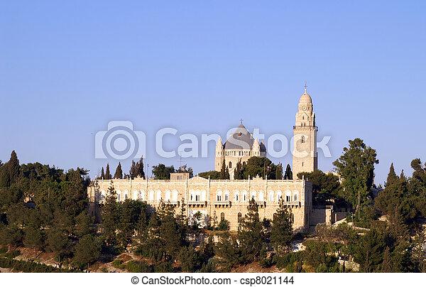 Holy church in Jerusalem - csp8021144