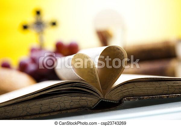 Holy communion  - csp23743269