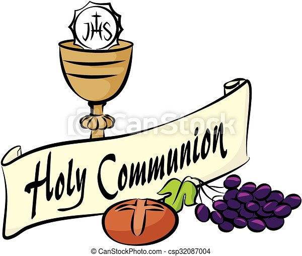 vector equipment of first holy communion vector clipart search rh canstockphoto ie first holy communion symbols clip art first holy communion cross clip art