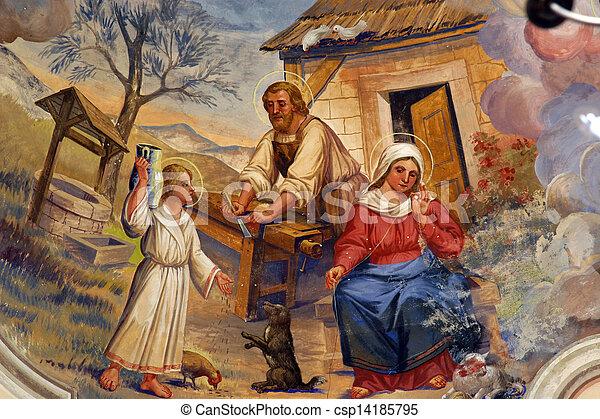 Holy Family - csp14185795