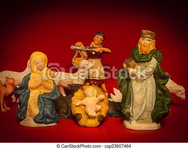 Holy Single parent - csp23607464
