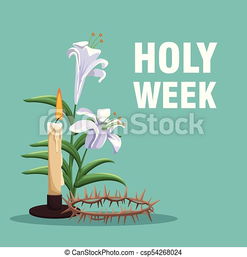 Holy week catholic tradition - csp54268024