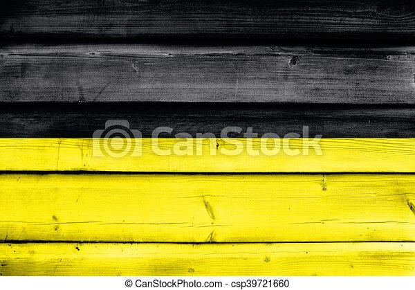 Flagge Munchens Deutschlands Gemalt Auf Alten Holzplanken