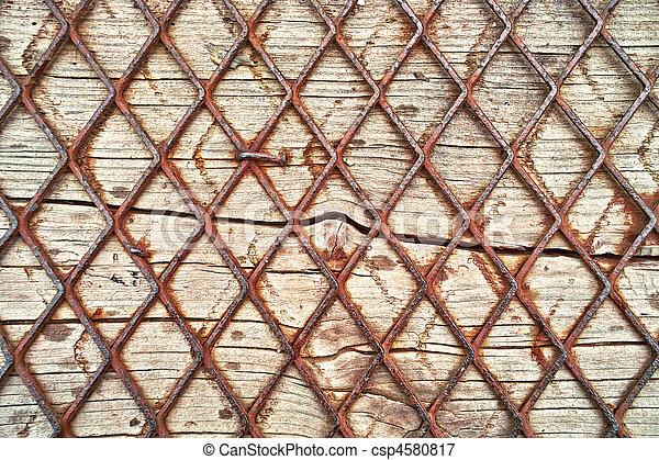 Holz, draht, hintergrund Bild - Suche Foto Clipart - csp4580817