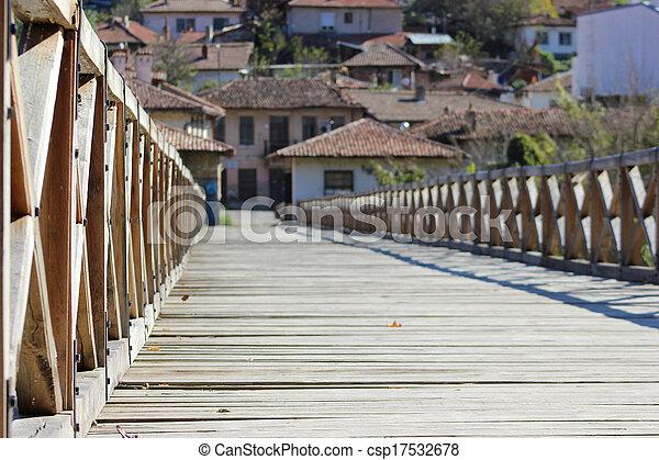 Holzbrücke - csp17532678