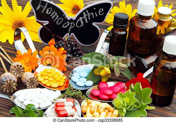 homöopathie - csp33338685