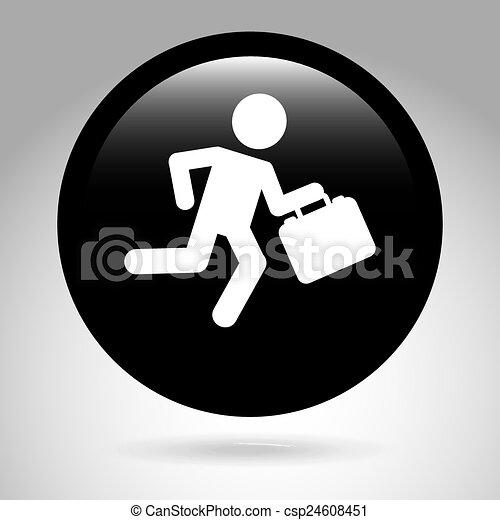 Hombre de negocios - csp24608451