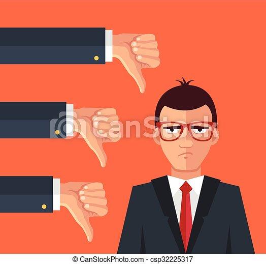 Un hombre de negocios enojado - csp32225317