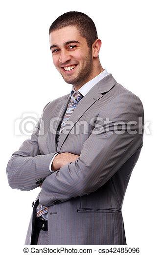 Hombre de negocios - csp42485096