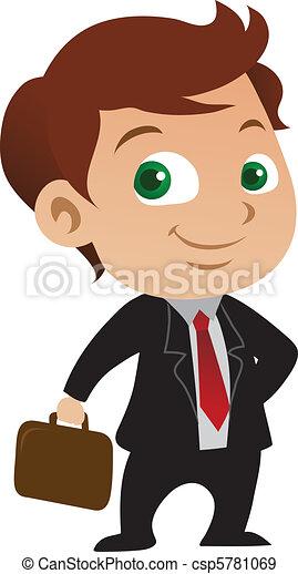 Joven hombre de negocios - csp5781069