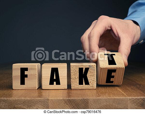 hombre de negocios, o, hecho, mano, falsificación, alemán, concepto - csp79016476
