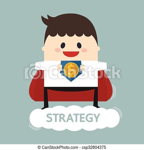 Super hombre de negocios - csp32804375