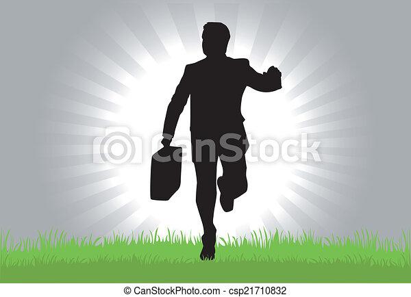 Hombre de negocios - csp21710832