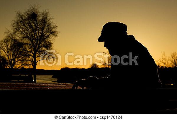 Hombre deprimido - csp1470124