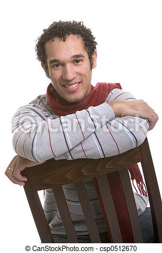 Hombre sonriente - csp0512670