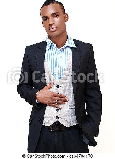 Hombre en traje - csp4704170