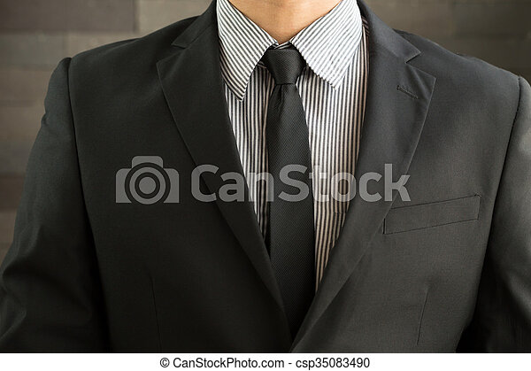 Hombre de traje - csp35083490