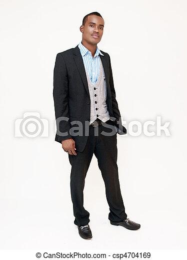 Hombre en traje - csp4704169