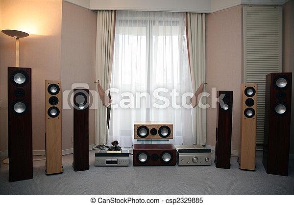 home audio equipment - csp2329885