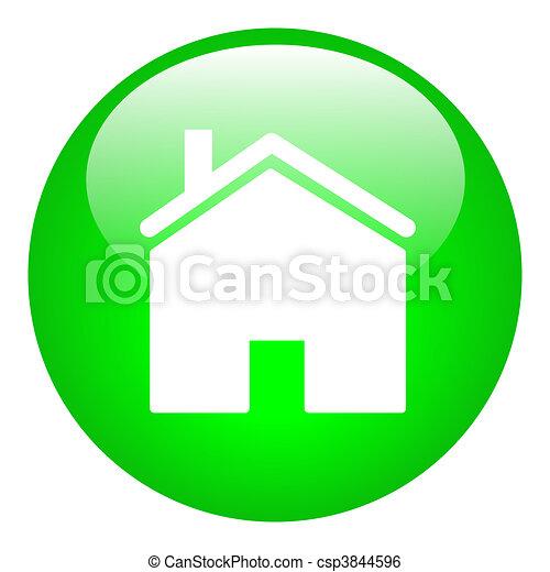 Home Button - csp3844596