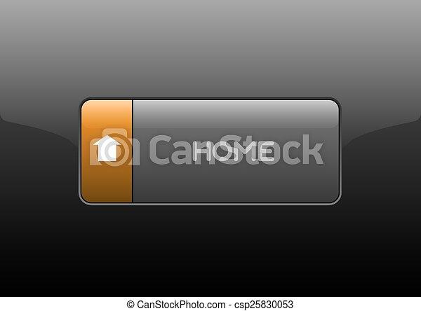 Home Button - csp25830053