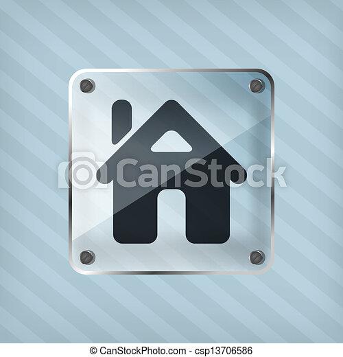 home button icon - csp13706586