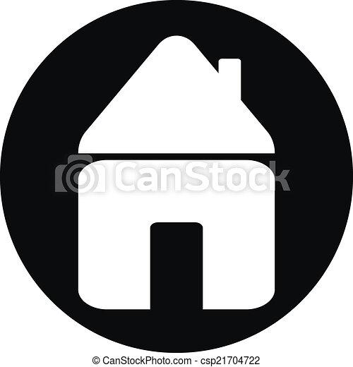 Home button - csp21704722