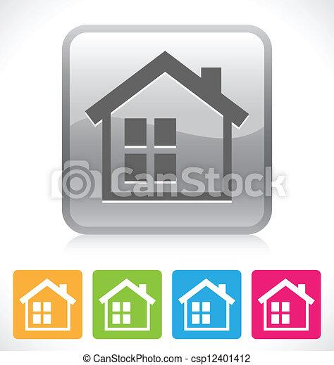 home button - csp12401412