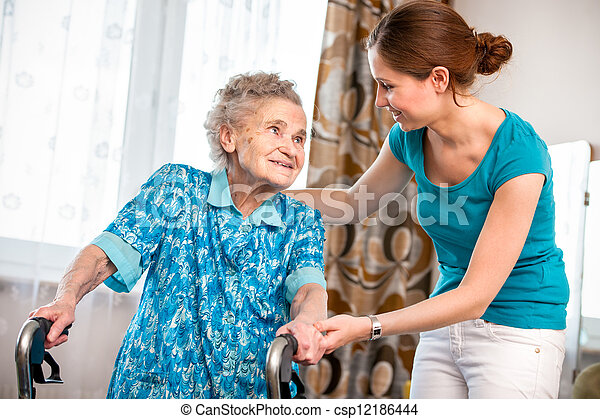 Home care - csp12186444