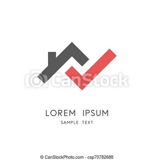 Home check logo - csp70782688