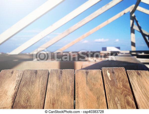 Home construction. - csp40383728