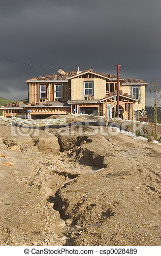 Home Construction - csp0028489