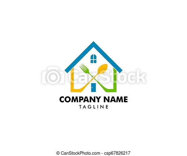 Home cooking logo - csp67826217