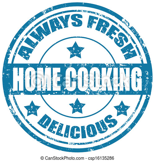 Home Cooking-stamp - csp16135286