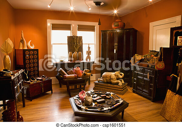 Home decor store. - csp1601551
