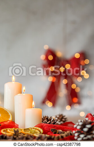 Home decoration for Christmas - csp42387798