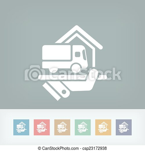 Home delivery service - csp23172938
