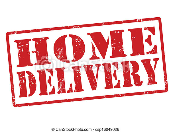 Home delivery stamp - csp16049026