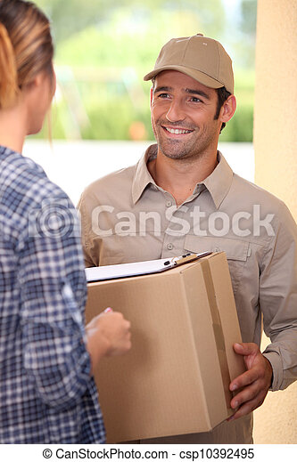 Home delivery - csp10392495